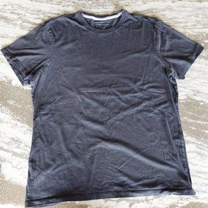Banana Republic Fitted Crew Black T-Shirt
